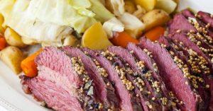 How To Cook Corned Beef Brisket In Slow Cooker